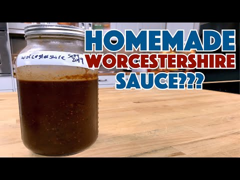 ? Make WORCESTERSHIRE Sauce At Home - Maybe??