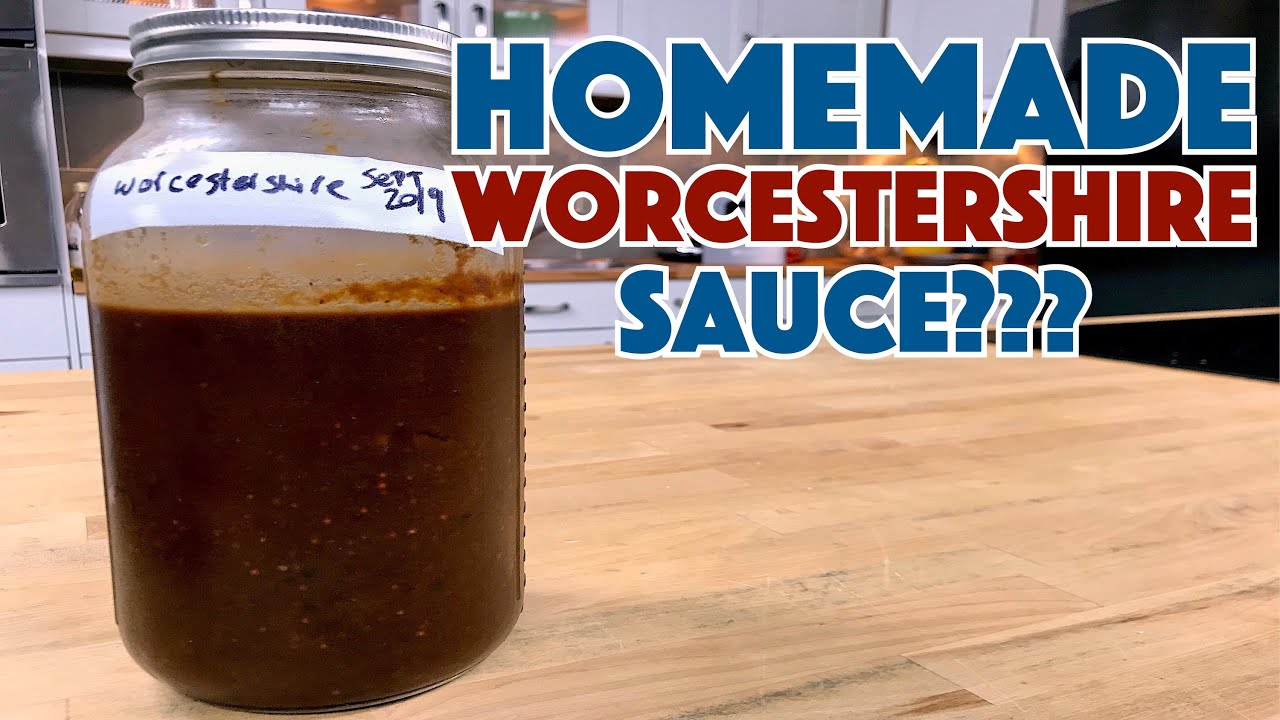 🏆 Make WORCESTERSHIRE Sauce At Home - Maybe??