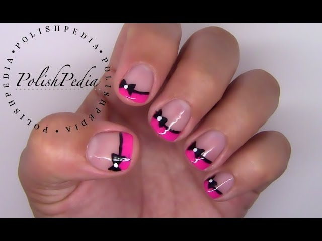 Flirty Bow Nail Art Up Your Style Game With These Nail Porn