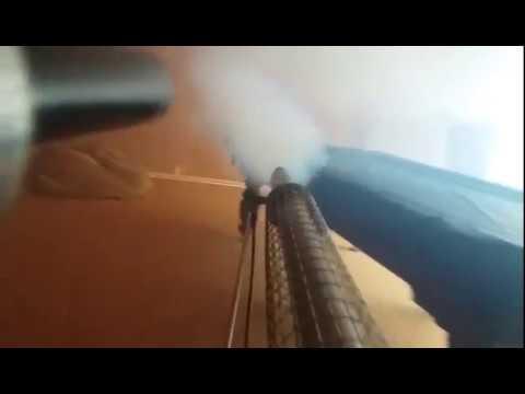 Как ФУМИГАЦИЯ помогает от жука-короеда? Обработка сруба от ДРЕВОТОЧЕЦ! Видео без монтажа №1