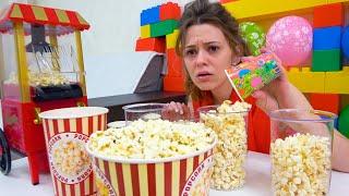 Eva y la historia para niños sobre dulces y dulces