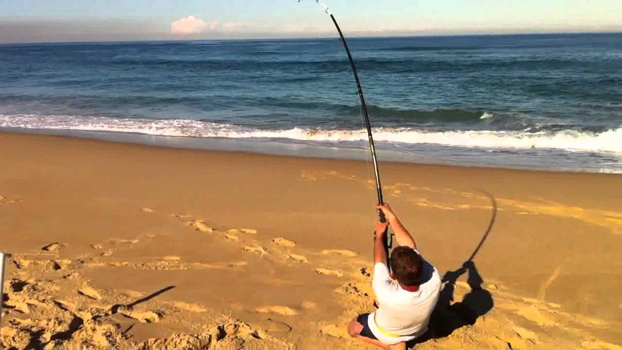 Stockton beach shark fishing youtube for Stockton fishing report