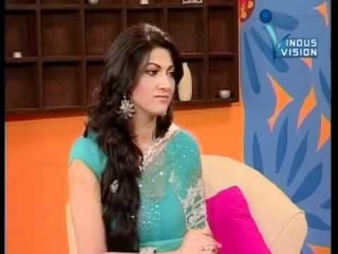 Ali Shyhaki & Seema Ghazal with film Actress Sana-DilkeeBatain-Ep-1,Part-2.mp4