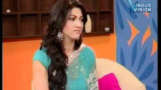 Ali Shyhaki & Seema Ghazal with film Actress Sana-DilkeeBatain-Ep-1,Part-2.mp4