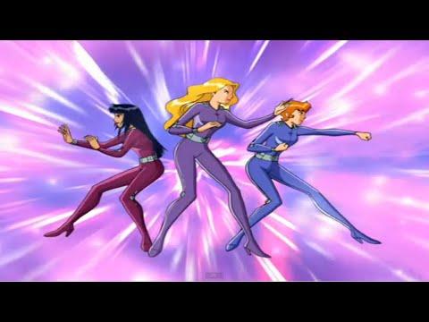 Três Espiãs Demais S01E17 Espiãs VS Espiãs(Totally Spies)