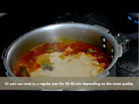 Mutton masala | Saraswat Brahmin style