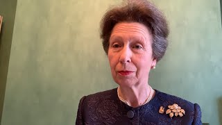 video: Princess Anne sends message of support to Team GB ahead of Tokyo Olympics