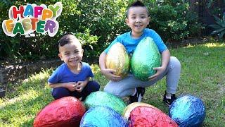 Fun Egg Hunt  At Home With Calvin Kaison CKN