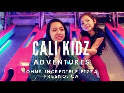 Cali Kidz Adventure at Johns Incredible Pizza Fresno, CA