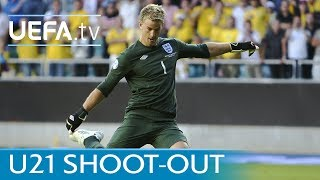 England-Sweden 2009 U21 penalty shootout revisited