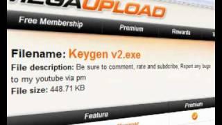 Keygen for Sony Vegas pro 9