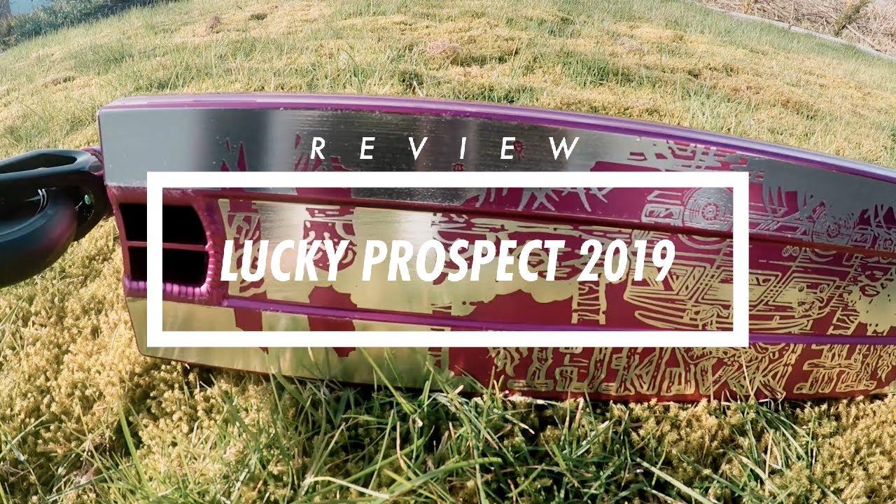 Lucky Prospect Stunt-Scooter Deck 2019 Dorée Astuce Scooter à Pédales Planche
