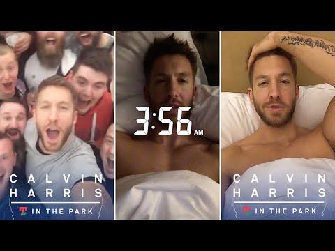Calvin Harris | Snapchat Videos | July 9th 2016