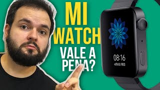 Xiaomi Mi Watch Unboxing Review - Ele é melhor que Apple Watch? Vale a pena? - Mi Watch Brasil