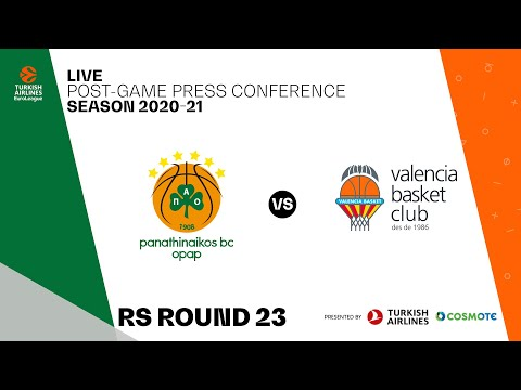 Panathinaikos BC OPAP - Valencia | Post-Game Press Conference