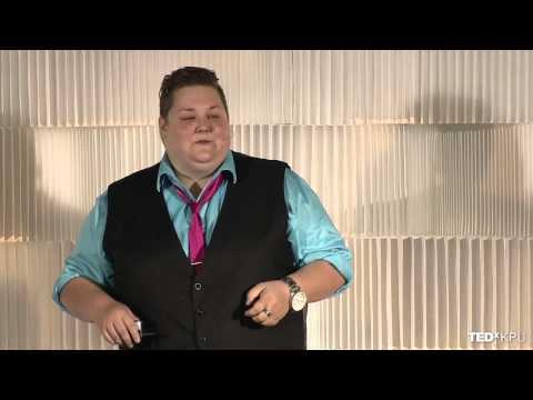 Fruity punch lines -- homophobic humor and its implications   Jenn Clark   TEDxKPU