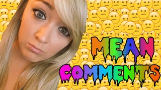 Mean Comments With Meghan Thumbnail