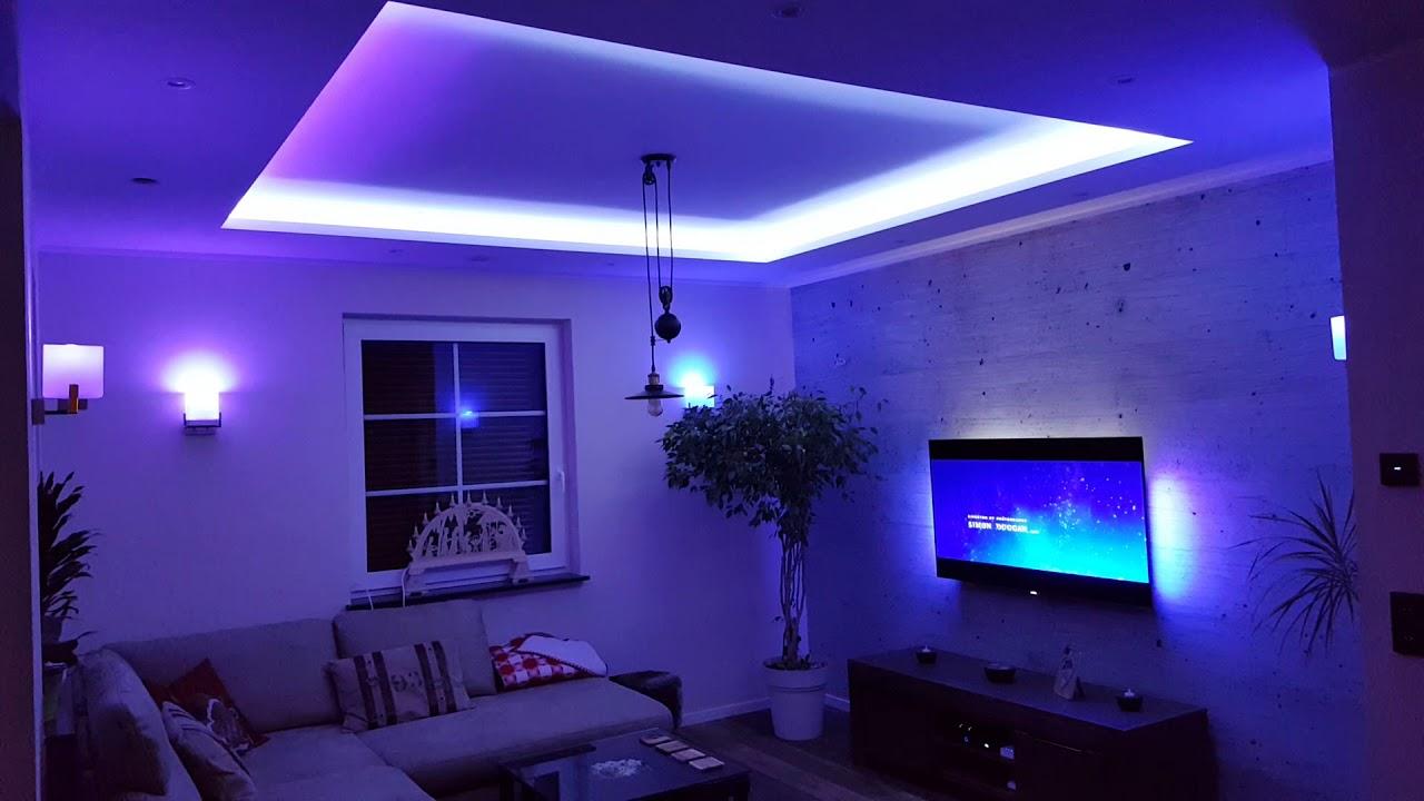 philips oled tv 55pos9002 12 ambilight hue smart led youtube. Black Bedroom Furniture Sets. Home Design Ideas