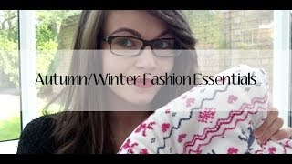 Autumn/Winter Fashion Essentials Thumbnail