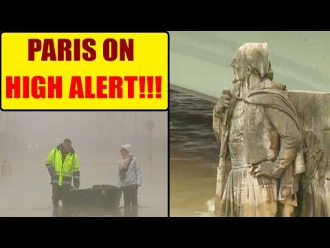 France Flood: Paris on HIGH ALERT as river Seine water level rising   Oneindia News