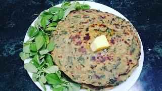 इन सर्दीयों में बनाएं चटपटा मेथी का पराठा // methi ka paratha //winter special recipes