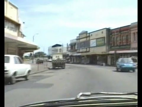 Sunday afternoon drive through Old Lower Hutt, 13th Nov 1988