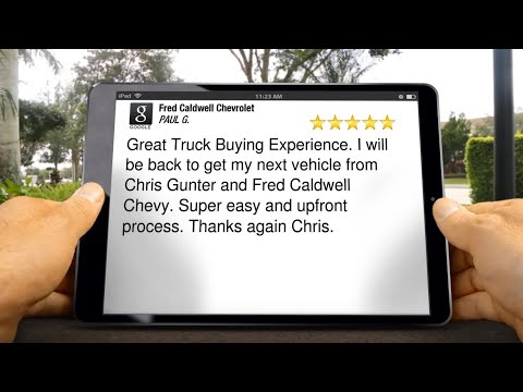Fred Caldwell Chevrolet Review Lancaster SC 803 810 0089 pg