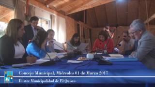 Concejo Municipal Miércoles 01 de Marzo 2017