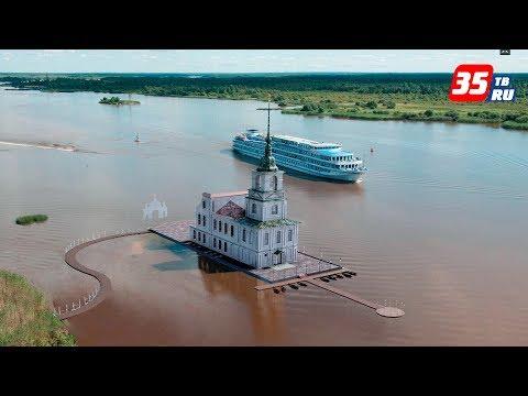 Уникальный храм на воде под Белозерском хотят сделать достопримечательностью