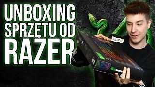 Unboxing sprzętu od Razer | DeathAdder Chroma | BlackWidow Chroma | Adaro DJ | Goliathus Speed