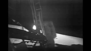 "NASA | ""Buzz Descends"" - Partially Restored Apollo 11 Video"