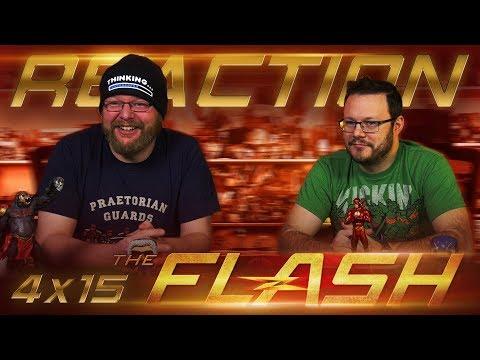 """The Flash 4x15 REACTION!! """"Enter Flashtime"""""""