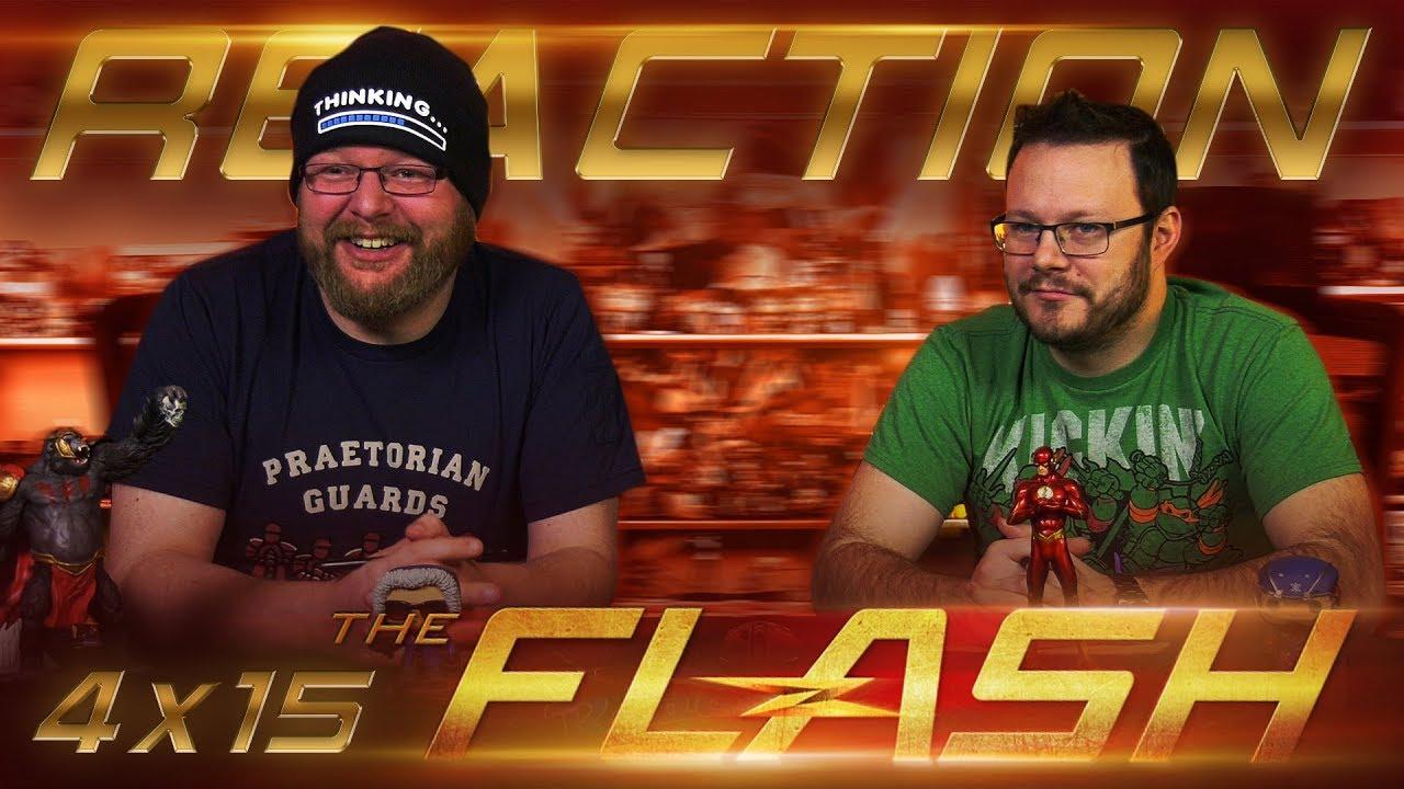 "Download The Flash 4x15 REACTION!! ""Enter Flashtime"""