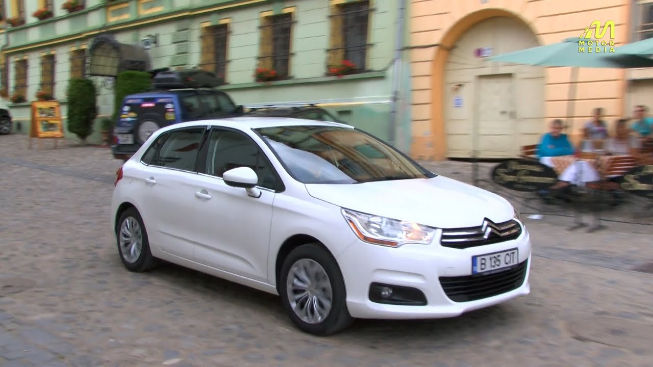 test drive citroen c4 1 6 hdi 115 youtube. Black Bedroom Furniture Sets. Home Design Ideas