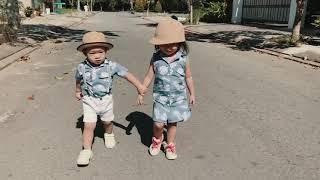 Thu hoạch khế cùng Sunny và tập thể dục với Mio   Gia Đình Lý Hải Minh Hà