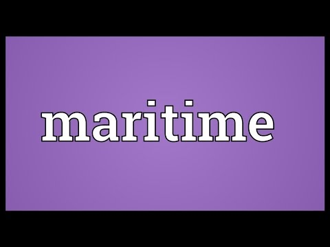 Maritime Meaning