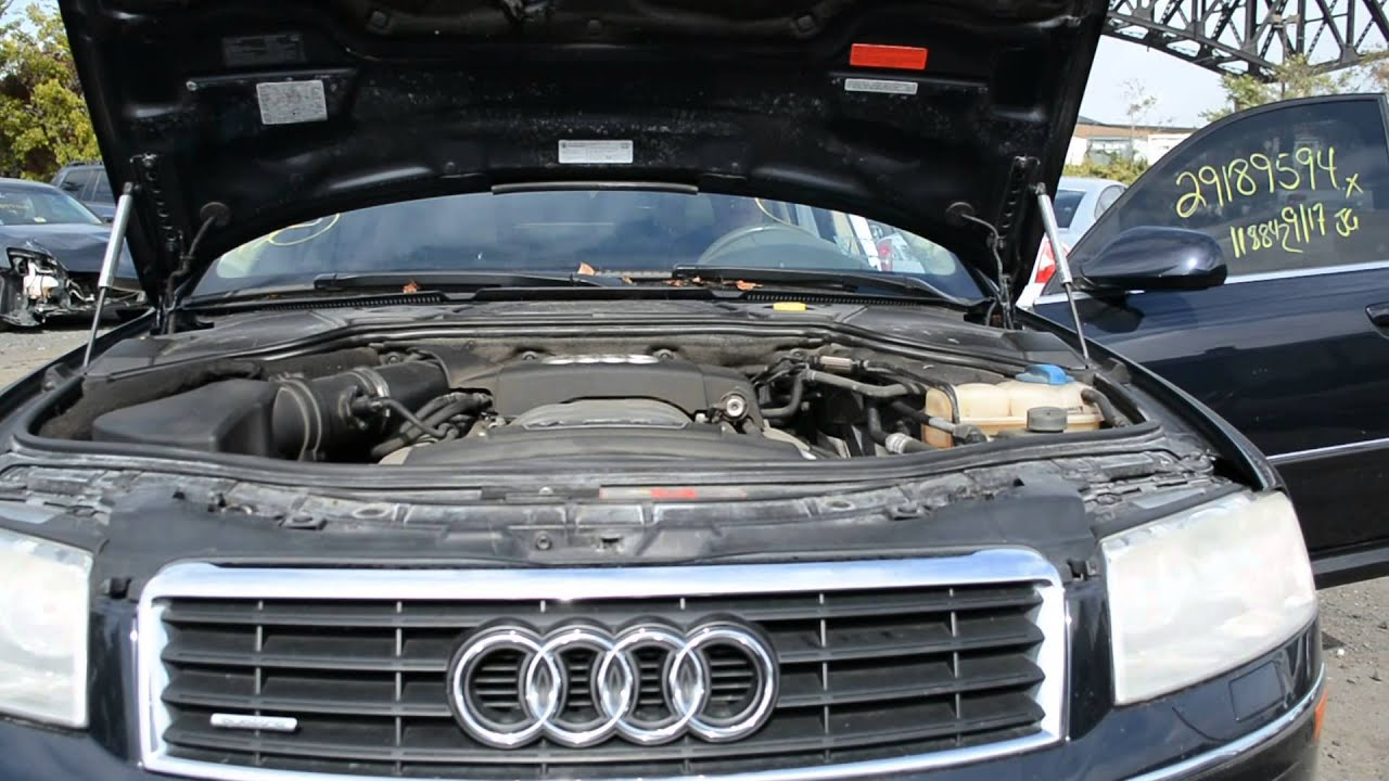 2004 Audi A8 4 2l V8 Running Engine