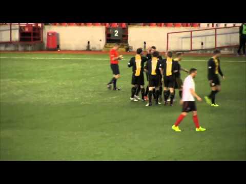 Lavery reaches goal scoring landmark at Broadwood