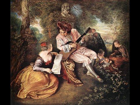 Jean - Antoine Watteau (1684-1721) French Rococo Artist ✽ J.Haydn - Serenade