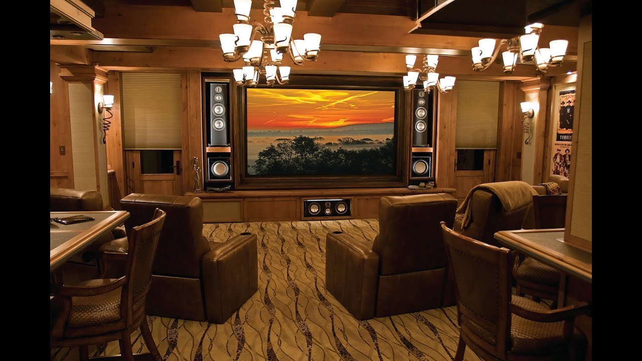 Ultimate Home Theater U0026 Home Automation System   YouTube