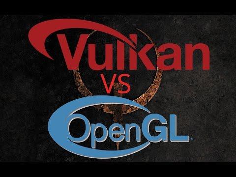Vulkan API Benchmark: Quake 1 - OpenGL VS. Vulkan!