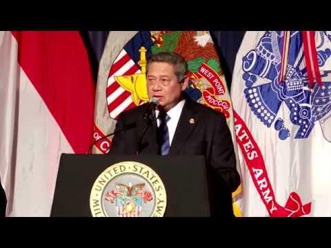 Pidato Presiden SBY di Hadapan Taruna Amerika
