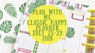 Video Plan with Me- Redating a Student Planner for my Classic Happy Planner- July 23-29, 2018 download MP3, 3GP, MP4, WEBM, AVI, FLV Juli 2018