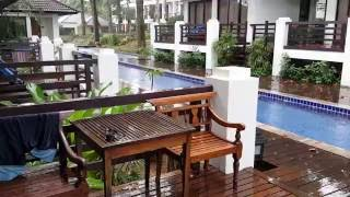 Relaxing tropical thunderstorm and heavy rain at Koh Chang Tha…
