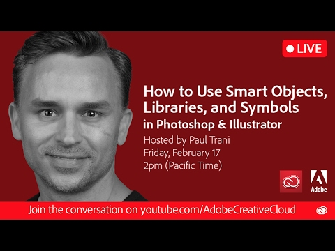 How to Use Smart Objects, Libraries, and Symbols in Photoshop and Illustrator