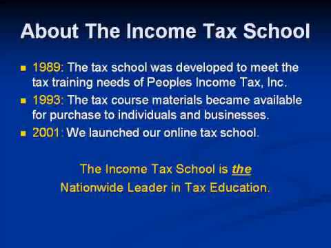 Income Tax School Marketing Videoflv Youtube