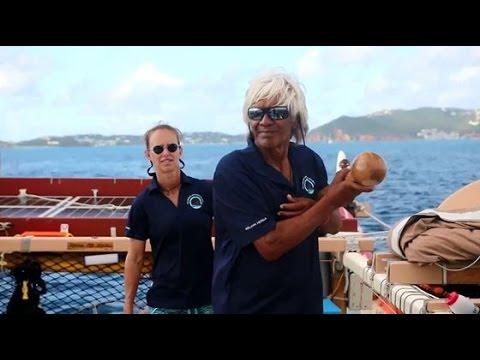 Hōkūle'a Reaches the US Virgin Islands in the Caribbean