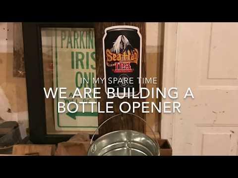 How I Build My Pallet Wood Bottle Opener