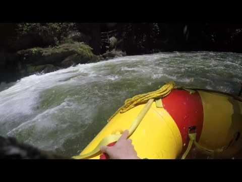 Kaituna Cascades Rafting Rotorua NZ 2016