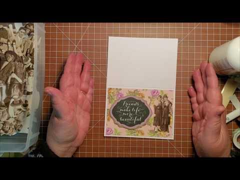 Easy, Beautiful, Handmade Vintage Card